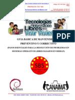 Guia Basica de Mantenimiento Preventivo y Correctivo 2013