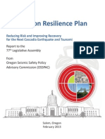 Oregon Resilience Plan Final