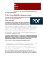 Friday Focus - Statistics