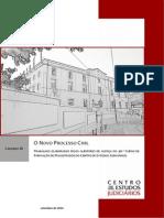 Caderno III Novo Processo Civil