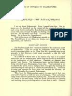Nikolai Velimirovich - Shakespeare the Pananthropos