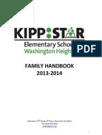 KIPP STAR Elementary - Family Handbook 2013-14