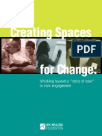 Creating Spaces for Change