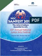 NGC Sanfest 2013 Syllabus REVISED