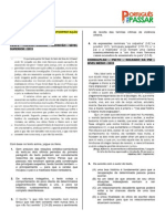 5 QS (4 de 25) de Compreensão e Interpretação PPP postadas em 13.09.13