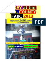 9/11/13 A DAY at the L.A. COUNTY FAIR ,plus BIBLICAL INSPIRATION !