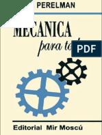 Mecanica Para Todos - Yakov I. Perelman