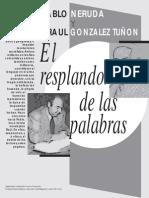 Neruda Pablo y Gonzalez Tu?on Raul - El resplandor de las palabras.pdf