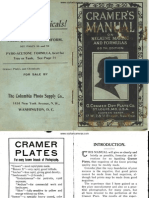 Cramers Manuals Formulas Chemicals