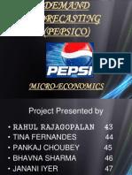 Pepsico Demand Forecasting
