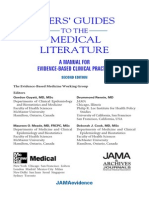 Users Guide Medical Literature Part 1