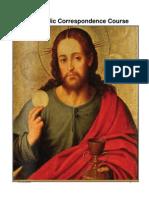 FREE Catholic US MAIL Correspondence Course