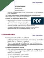 SDM- Sales Organisation