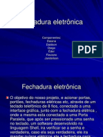 Fechadura eletonica