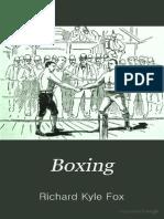 Boxing - Richard Kyle Fox 1889