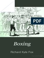 Boxing - Richard Kyle Fox 1889