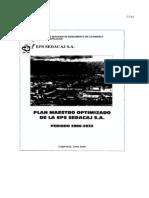 PLAN 13174 Plan Maestro Optimizado (PMO) 2009