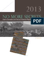 No More Secrets Annual Report