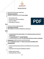 Disorders of Bone Answer Sheet