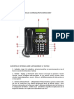 Manual Telefono1608sw