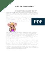 Instruções  - Doenças comuns em acampamentos.doc