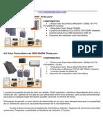 Kit Fotovoltaico 1500 3000w