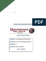 Comunicaciones Opticas Luis Fernando Vera Pereira