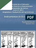 Copia de Tcnicas e Instrumentos de Evaluacin PRES.
