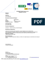 Informe Impresora HP F380 Cainco1