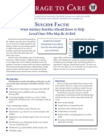 Suicide Facts What Military Families Should Know