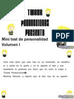 minitest de personalidad 1