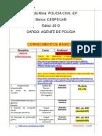 245 Mapa Da Mina Pcdf Agente Policia 2013 Evp Pdf1