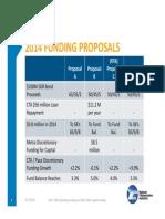 Proposal Comparison