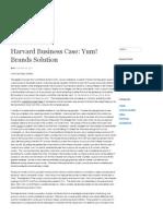 Harvard Business Case