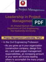 9. Leadership in Project Managetement. Construction Project Management.ppt