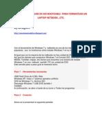 Convertir Una Usb en Iso Booteable Para Formatear Un Laptop Netbook-1