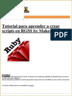 Manual Para Aprender RGSS by MakerJ
