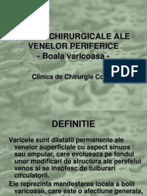 venele varicoase mixte)