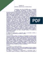 Capítulo 31_A COMUNIDADE CIENTÍFICA E TECNOLÓGICA