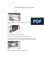 Curso Cat 428B Sist Hidraulico Desarmado- Armado Bomba Hidraulica