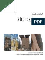 Seminararbeit Strohballenbau Sinnvolle Architektur Web