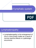 Disorders of Lymphatic System