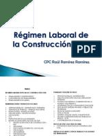 Regimen Laboral de Construccion Civil