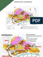Zonificacion de Barranco Vial