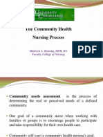 Community Health Nursing Process
