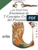 7 CONCEPTOS CRUCIALES DEL PSICOANÁLISIS