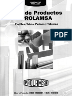 Catalogo Productos Prolamsa