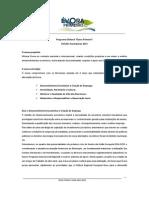 Programa Eleitoral Evora Primeiro 2013