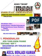 Slaid bantuan mengajar-Melawan Kebakaran Tahap 1