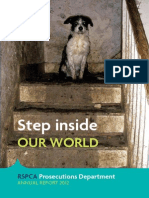 RSPCA Prosecutions Annual Report 2012